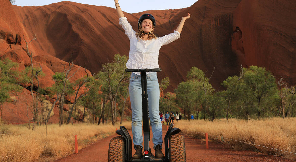 Uluru Segway Tour, Guided Walk and Sunset Picnic - 5 Hours