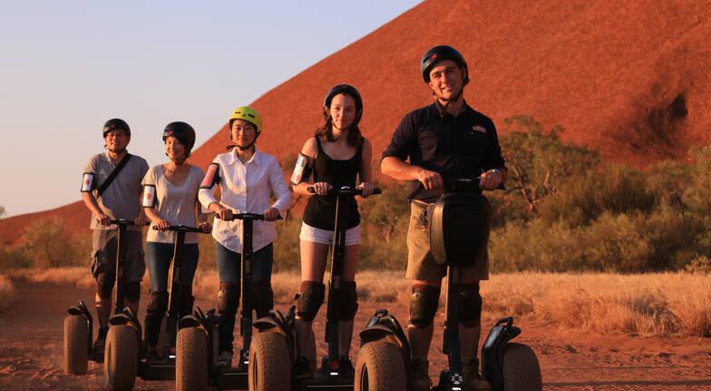 Uluru Segway Tour, Guided Walk and Sunset Picnic - 5 Hours