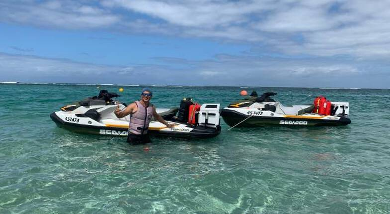 Full Day Geraldton to Pink Lake Jet Ski Tour