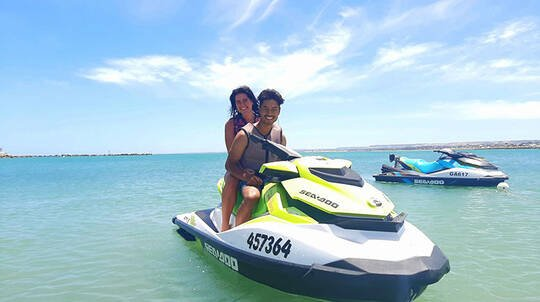 Exmouth Guided Jet Ski and Snorkel Tour - For 2
