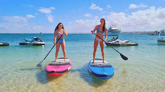 Exmouth SUP and Kayak Hire - Half Day