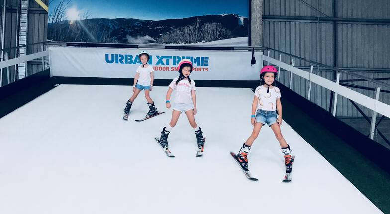 Indoor Ski or Snowboard Group Lesson
