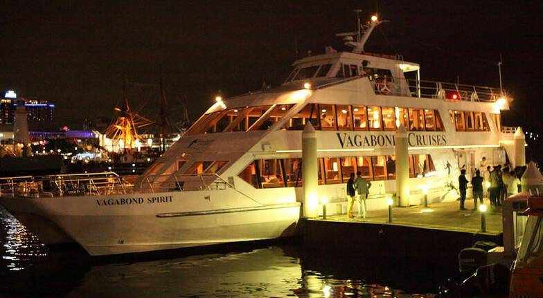 Retro Party Cruise on Sydney Harbour with Dinner