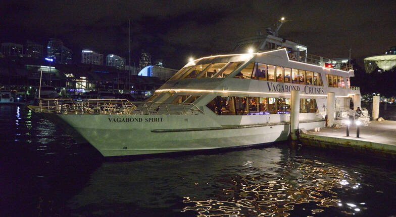 VIVID Sydney Harbour Cruise with Cocktail Dinner and Drinks