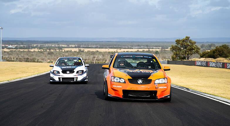 V8 Race Car Drive - 4 Laps - Perth