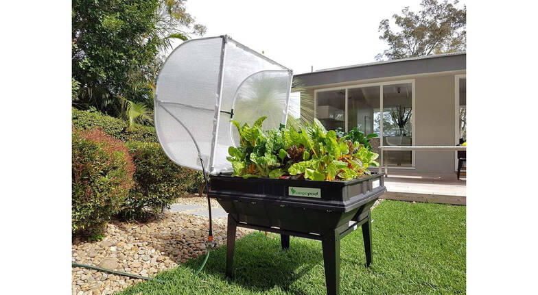 Medium Vegepod Self Contained Garden with Cover and Stand