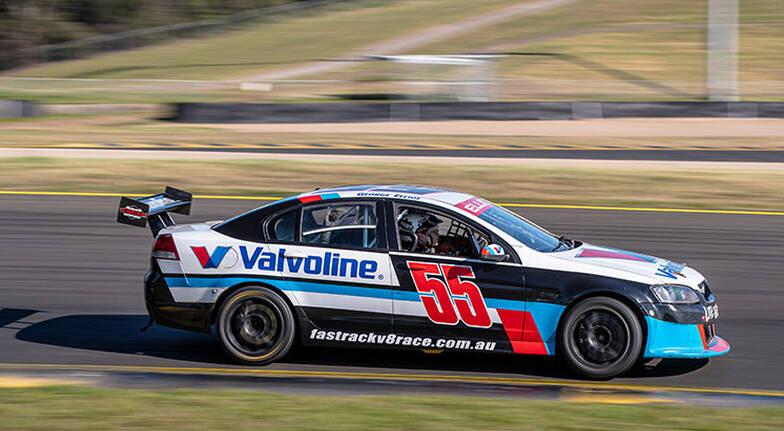 V8 Race Car Driving  4 Laps  Adelaide