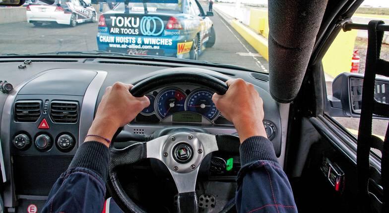 V8 Drive and Front Seat Hot Laps - 9 Laps - Launceston - TAS