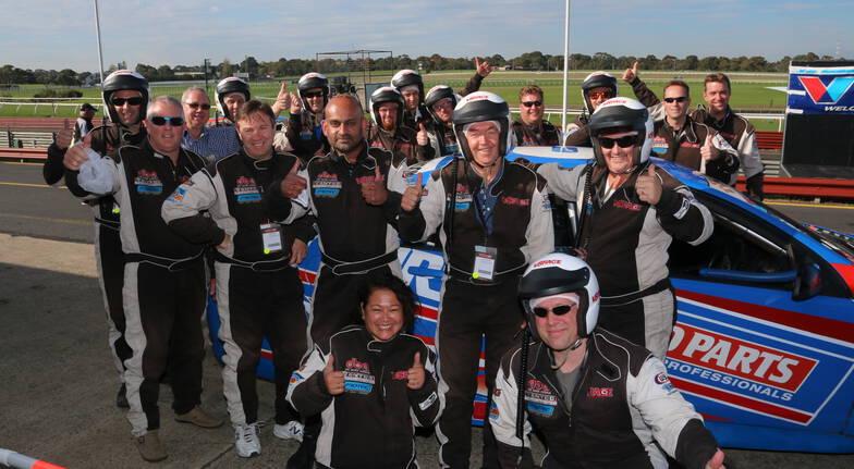 V8 Race Car Driving - 8 Laps - Melbourne - VIC