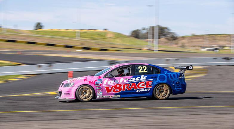 V8 Front Seat Hot Laps Ride  2 Laps  Melbourne