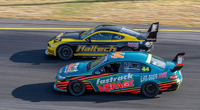 V8 Race Car Driving - 6  Laps - Melbourne