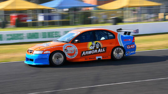 Fast Pass V8 Drive and Ride Front Seat Combo - 9 Laps - NSW