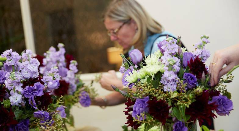 Flower Arranging Workshop with High Tea and Champagne