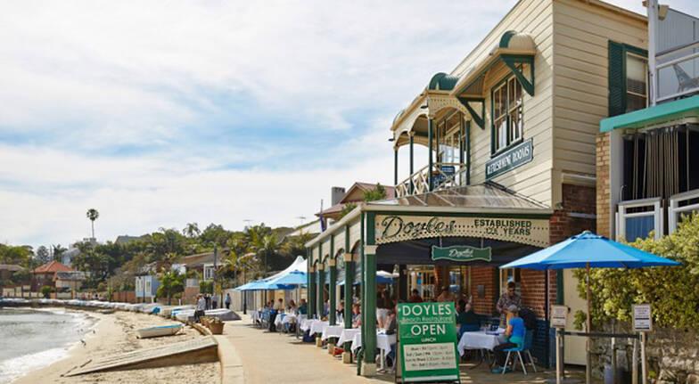 doyles on the beach restaurant watsons bay