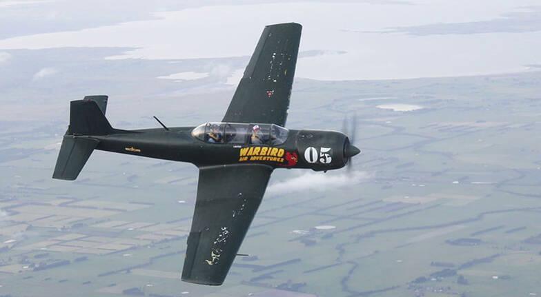 Warbird Aerobatic Flight  35 Minutes