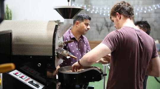 Roast Your Own Coffee Beans Workshop