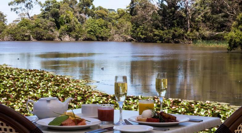 Hot Springs, Sparkling Wine & Gourmet Breakfast