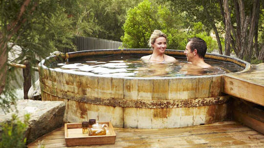 Hot Springs Bathing and High Tea with Sparkling - For 2
