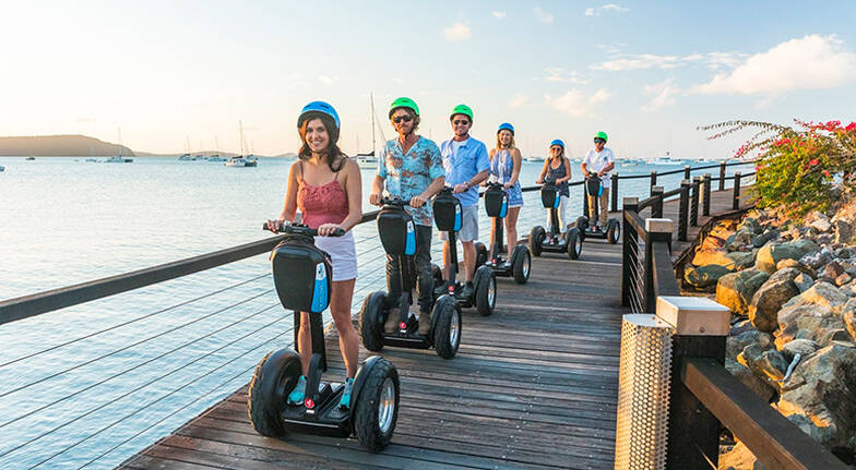 Segway Sunset Boardwalk Tour with Dinner