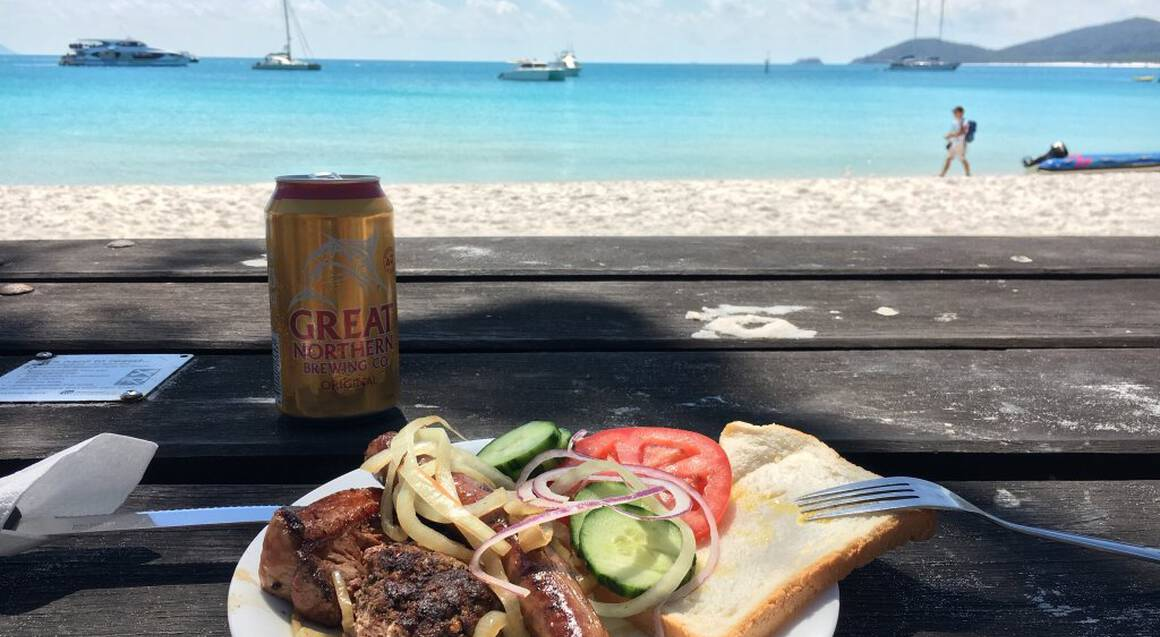 Whitehaven Beach Cruise with BBQ Lunch and Snorkelling
