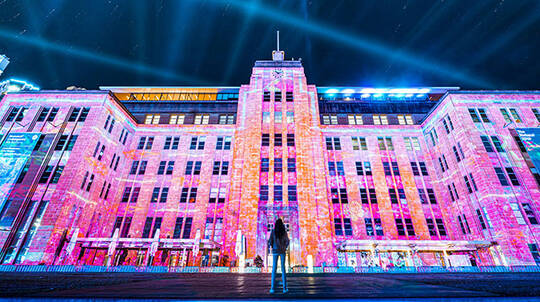 Vivid Sydney Guided Walking Tour - 2 Hours
