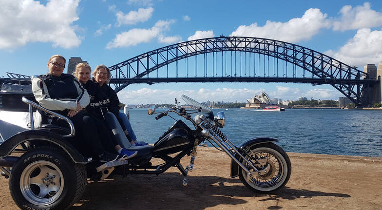 30 Minute Sydney Harbour Chopper Trike Tour - For up to 3