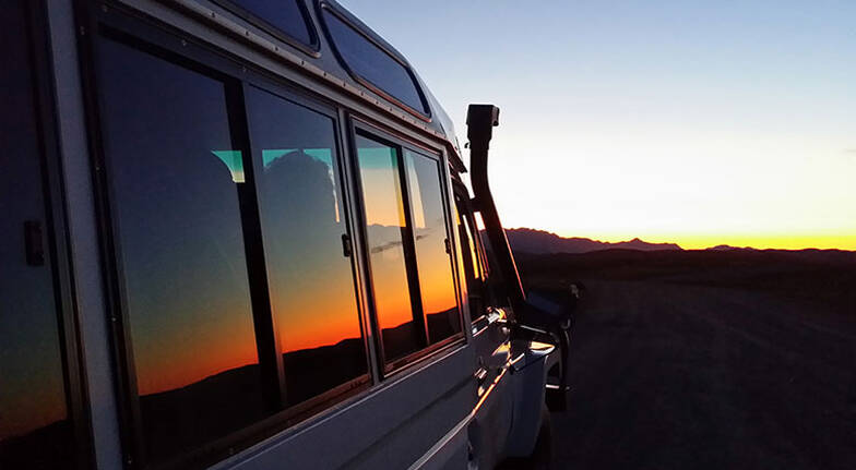 Flinders Ranges Sunset Tour with Canapes and Drinks