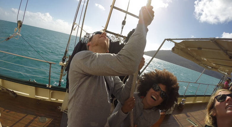 Tallship Sailing and Snorkelling Adventure