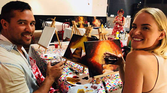 Paint and Sip Class at XXXX Brewery - 90 Minutes