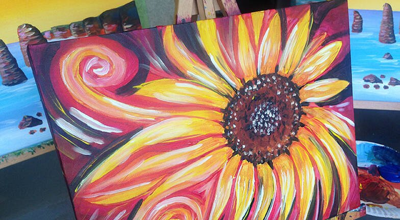 Paint and Sip Class - 90 Minutes