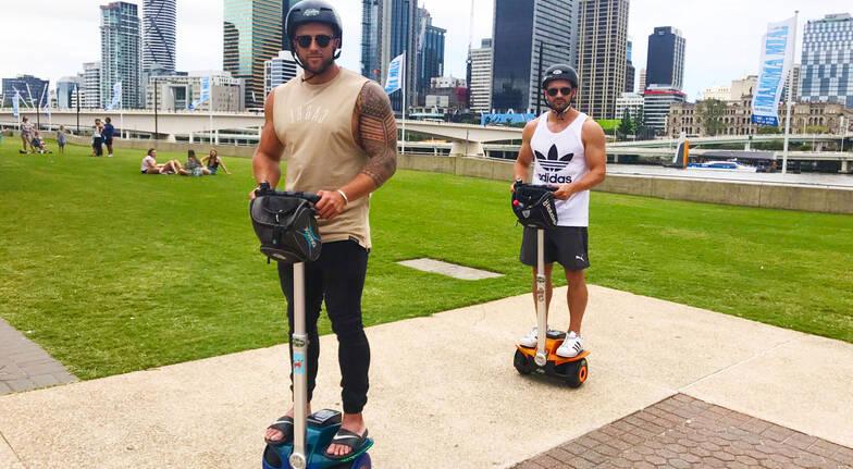 Mini Segway Tour Around Brisbane - 60 Minutes