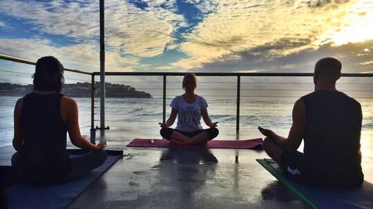 Private Yoga by the Sea Session in Bondi