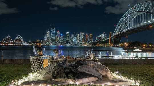 Luxury Private Picnic Experience by Sydney Harbour - For 2