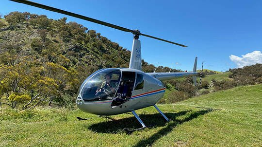 Learn to Fly a Helicopter over Canberra - 30 Minutes