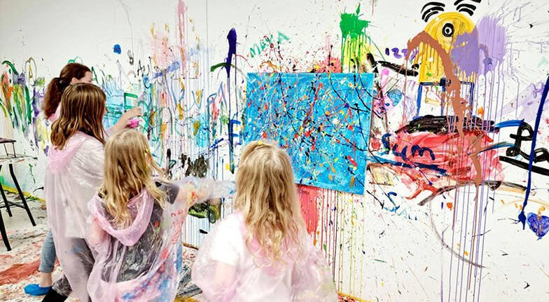 Paint Splash Experience - 60 Minutes - For 2