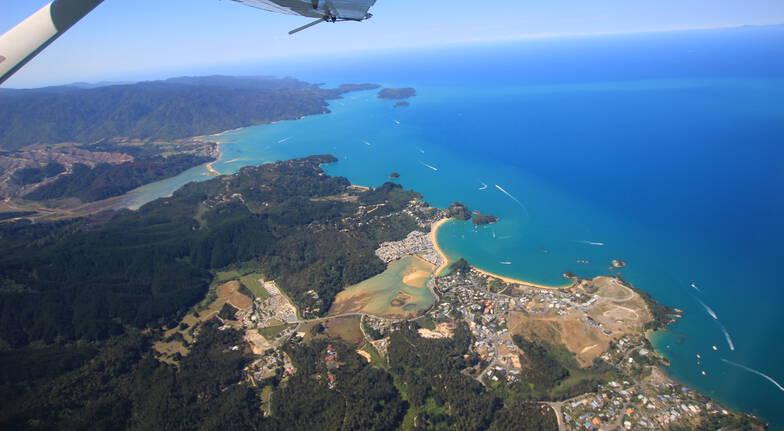 Tandem Skydive Over Abel Tasman - 13,000ft