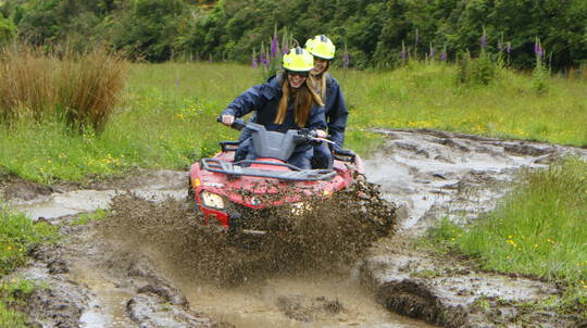 Adventure Quad Biking on the West Coast