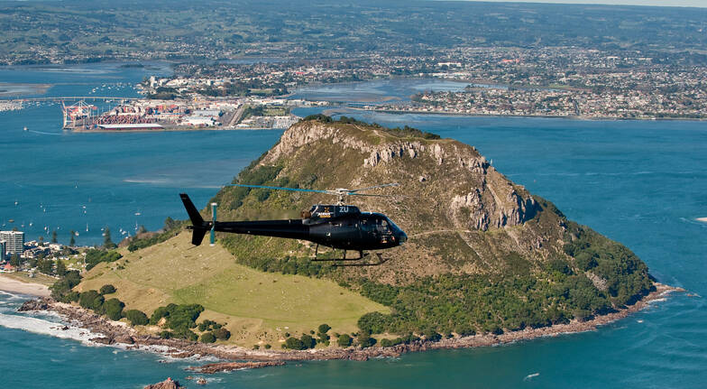 Mt Maunganui and Maketu Scenic Helicopter Flight - For 2