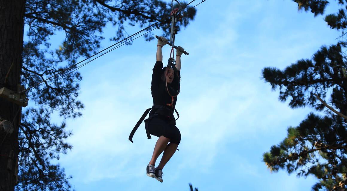Forest High Ropes and Ziplining Adventure - Tauranga