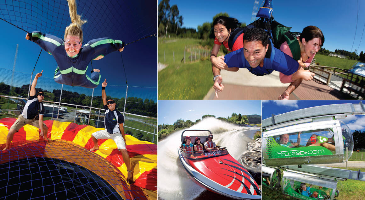 Xtreme Bullet, Swing, Jet or Fly - 1 Activity Pass