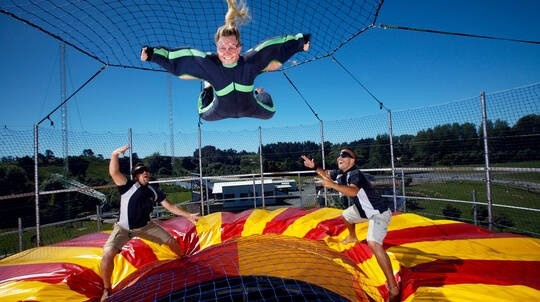 Shweeb, Swing, Jet or Fly - Family Pass 6 Activities
