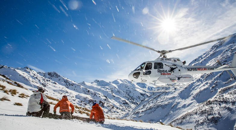 Heliski Day with Lunch and Transfers - 4 Runs