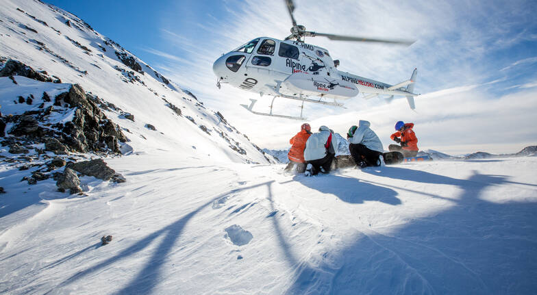 Heliski Day with Lunch and Transfers - 6 Runs