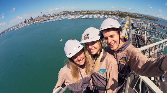 Auckland Harbour Bridge Climb and Bungy Jump with T-Shirt