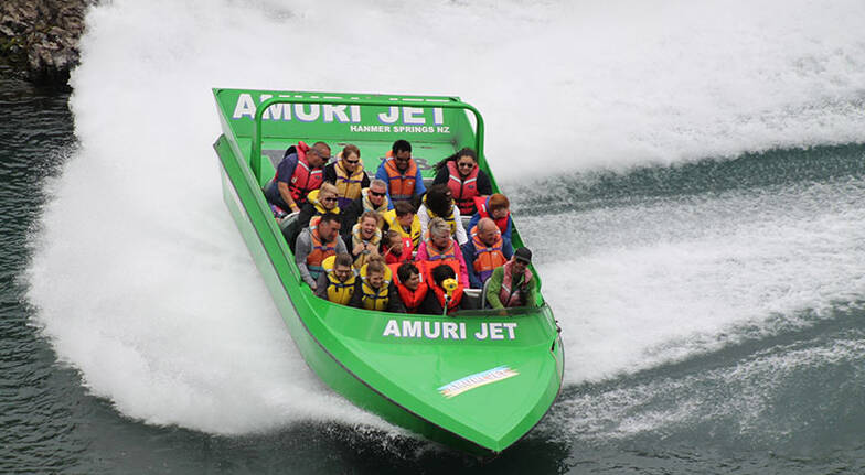 Jet Boat Ride on the Waiau River - Hanmer Springs