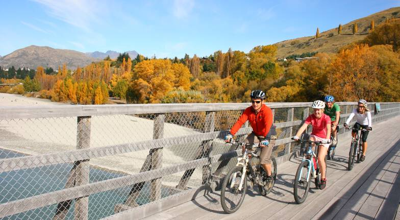 Queenstown Trails Bike Tour with Lunch - Full Day