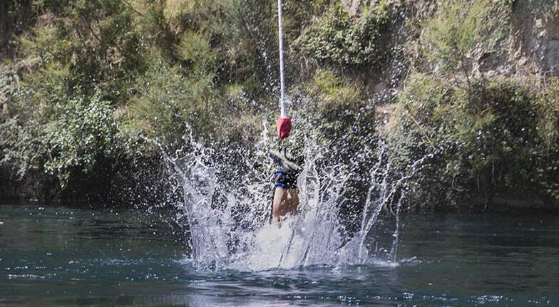 Taupo Solo Bungy Jump