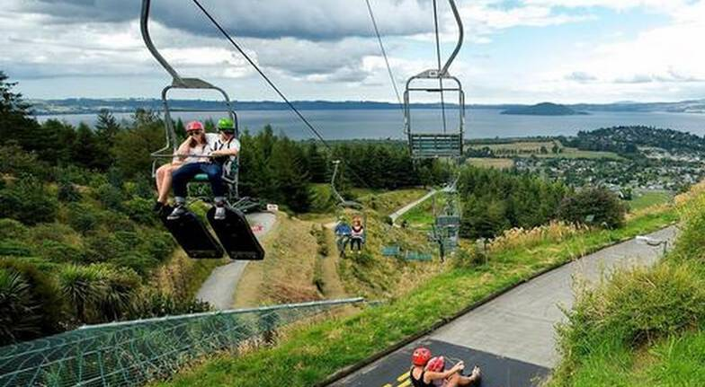 Rotorua Cable Car Ride, Luge Ride and Zip Line Adventure