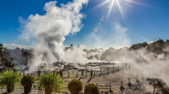 Rotorua Geothermal Valley Tour, Cable Car and Zip Line Ride