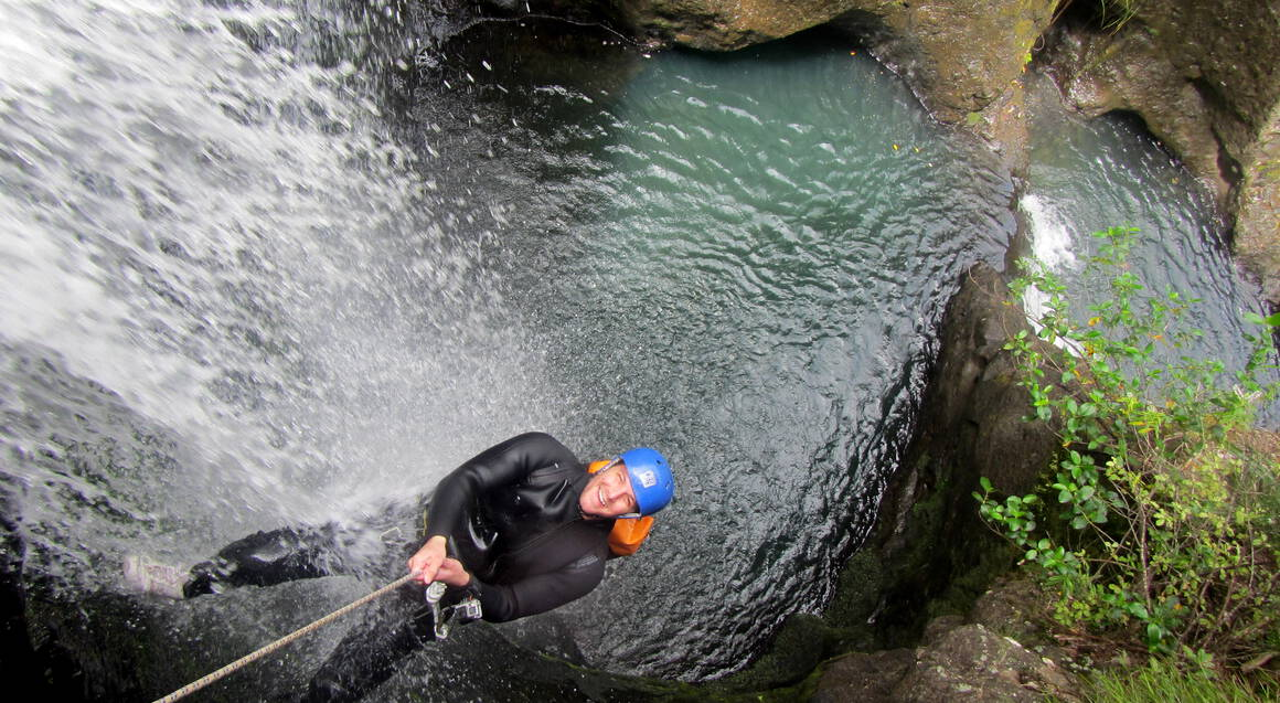 Full Day Canyoning Adventure with Lunch - For 2
